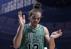 Chicago Bulls center Joakim Noah has left agent Donald Dell and signed with BDA Sports. Photo Credit: Mike DiNovo-USA TODAY Sports